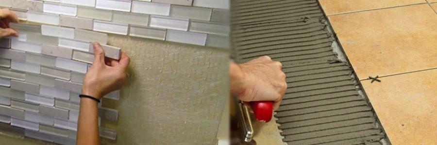چسب کاشی نکات فنی روش نصب کاشی با چسب کاشی